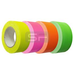 Fluorescerende tape 50 mm x 25 m