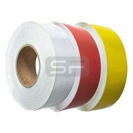 Retroreflecterende tape 50 mm x 50 m