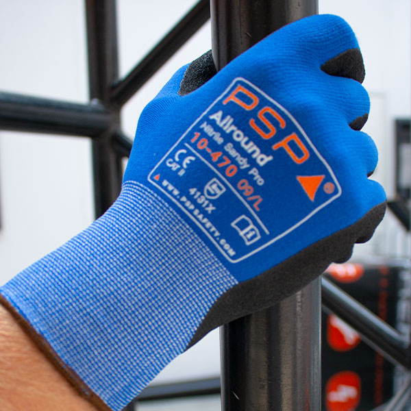 PSP Nitril Sandy Pro werkhandschoenen