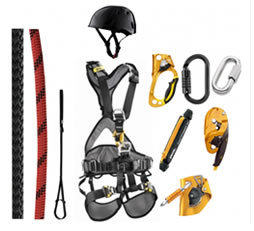 Safetyfreaks pakket voor rope access.