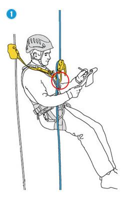 Werkpositionering ventraal hangend