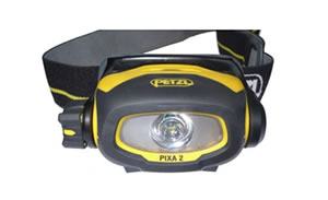 Petzl Pixa 2 hoofdlamp.
