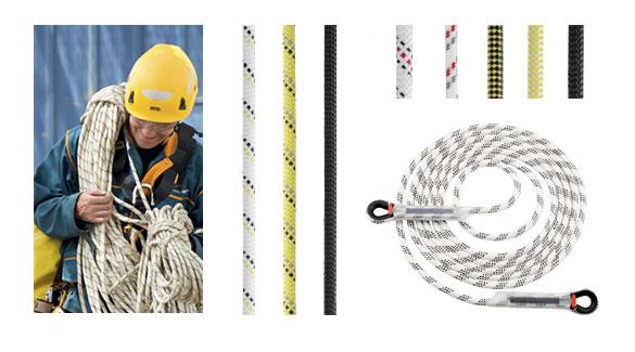 Voorbeelden van touwen.