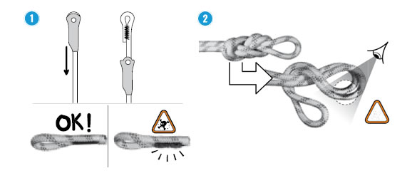 Speciale inspectiepunten touw