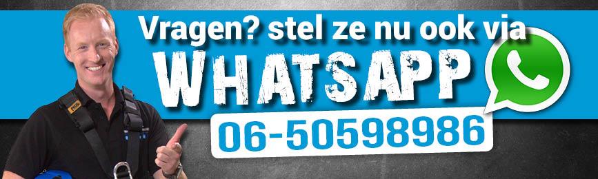 Whatsapp contact met Safety Freaks